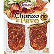 Chorizo de pavo Bandeja 100 g Carnicas Serrano