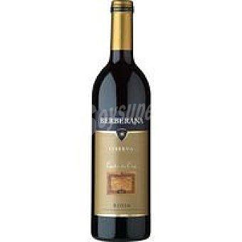 Berberana Vino tinto reserva D.O. Rioja Carta Oro 75cl 75cl