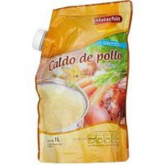 Matachín Caldo de pollo fresco 1 litro