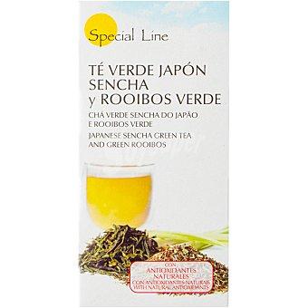 Special Line Infusión antioxidante de té verde Japón sencha y rooibos verde Estuche 25 bolsitas