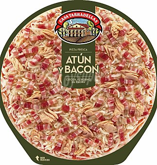 Casa Tarradellas Pizza atun y bacon 450 G