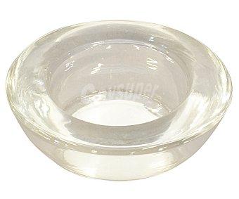 GÓTICA Soporte transparente para vela calientaplatos o tealight, 2.5 centímetros de diámetro, 7.5 de alto 1 unidad