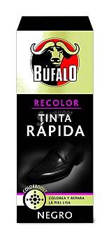 BUFALO Tinte para calzado rápido negro  Frasco de 25 ml