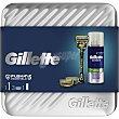 Pack con máquina de afeitar + 2 recambios + gel de afeitado Series Spray 75 ml Gillette Fusion Proshield