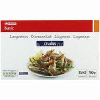 Eroski Basic Langostino crudo 35/42 Caja 700 g