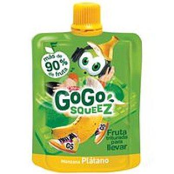 Gogo Squeez Fruta triturada de manzana-plátano Bolsa 90 g