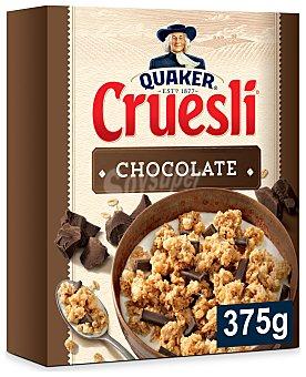 Quaker Cereales muesli con chocolate Cruesli 375 g