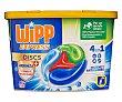 Detergente en cápsulas para lavadora antiolores 4 en 1 18 uds. 450 g Wipp Express