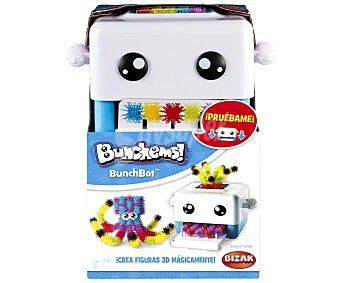 Bunchems Juego creativo figuras 3D ! bunchbot, bizak