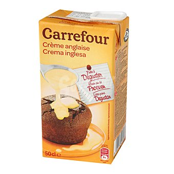Carrefour Crema inglesa 500 ml