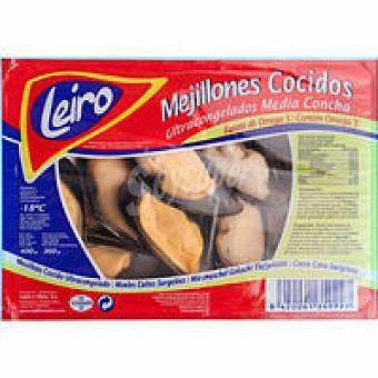 LEIRO Mejillón concha Bandeja 400 g