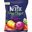 Chips vegetales con sal marina y vinagre Bolsa 100 g Kettle