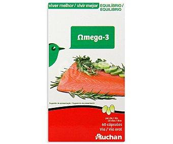Auchan Omega-3 (complemento alimenticio) 60 unidades