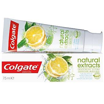 Colgate Dentífrico Naturals con aceite de limón y aloe vera 75 ml