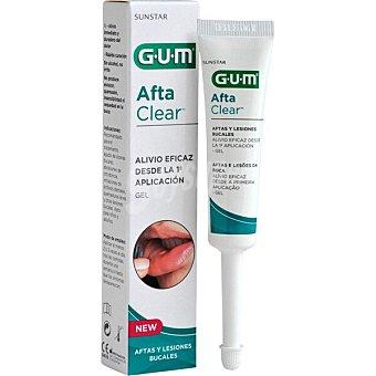 GUM Aftaclear gel con efecto calmante para el tratamiento agudo de úlceras bucales Tubo 10 ml