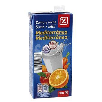 DIA Bebida de frutas con leche mediterráneo Envase 1 lt