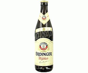 Erdinger Cerveza Belga de Trigo Sin alcohol Botella de 33 cl