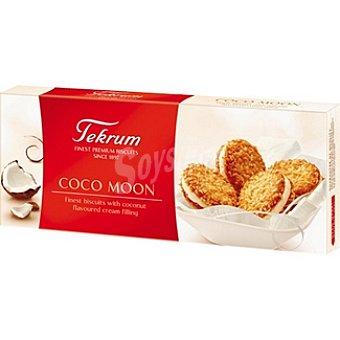 TEKRUM Coco Moon Galletas rellenas de crema de coco Paquete 100 g