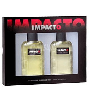 Impacto Estuche Colonia 100 ml. + after shave 100 ml. 1 ud