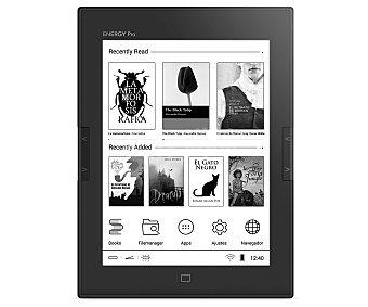 """Energy Sistem Libro electrónico de 15,24 cm (6"""") ebook PRO HD, luz, pantalla táctil, Wi-Fi, 8GB, microsd Ereader PRO HD"""