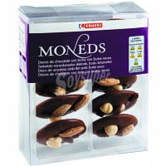 Eroski Minis chocolate con frutos secos Estuche 150 g