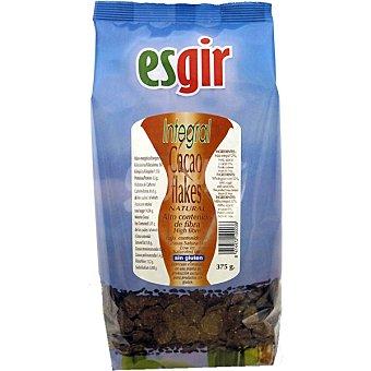 ESGIR Corn Flakes Integrales Ricos en fibra al cacao Envase 375 g
