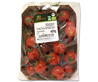 BIOSABOR Tomates cherry en rama ecológicos Tarrina de 400 gramos