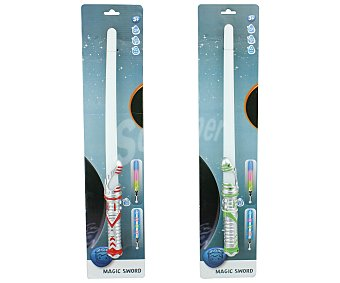 Productos Económicos Alcampo Espada láser con luz y sonido 1 unidad