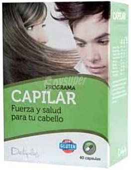 Deliplus Capsulas cabello (fuerza salud) Caja 40 u