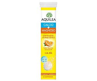 Aquilea Complemento alimenticio a base de calcio y magnesio 14 comprimidos
