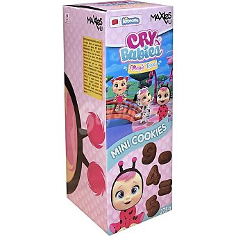 Maxies Mini cookies de chocolate diseños surtidos Star Wars o Dory paquete 275 g Paquete 275 g