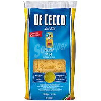 De Cecco Pasta Fusilli nº 34 Paquete 500 g