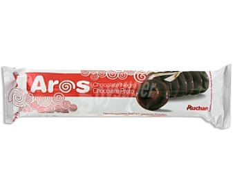 Auchan Galleta Aros chocolate negro 155 Gramos