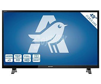 "SHARP Televisor 49"" LED LC-49CFF6002 full HD, smart TV, wifi, TDT HD, USB reproductor, hdmi, 100HZ. Televisión de gran formato 49"" LED smart TV LC-49CFF6002E"