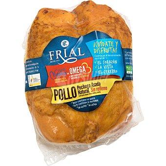 Frial Pechuga de pollo natural asada con omega 3 peso aproximado pieza 500 g