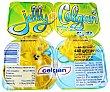 Gelatina sabor limón Pack de 4 x 125 g Celgan
