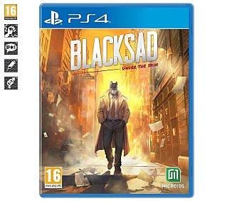 Microids Videojuego Blacksad: under the skin para Playstation 4. Género: aventura interactiva. pegi: +16