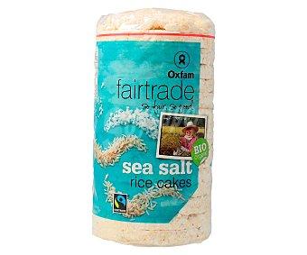 Intermón Oxfam Tortitas de arroz inflado ecologico con sal marina 90 gramos