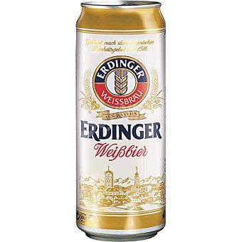Erdinger Cerveza de trigo turbia alemana Lata 50 cl
