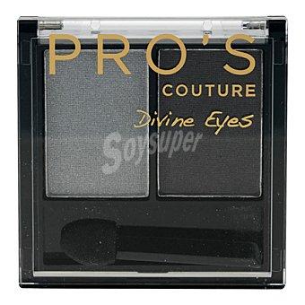 Pro's Les Cosmétiques Sombra de ojos dúo 514 Couture Divine Eyes 1 ud