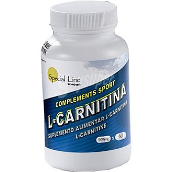 Special Line L-Carnitina 500 mg Bote 60 unidades