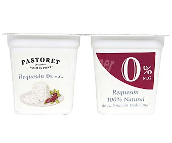 Pastoret Queso fresco requesón 2x125g