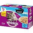 Casserole selección de pescado en gelatina para gatos pack 12 unidades 85 g pack 12 unidades 85 g Whiskas