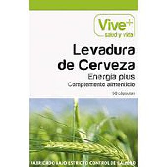 Vive+ Levadura de Cerveza 50 u