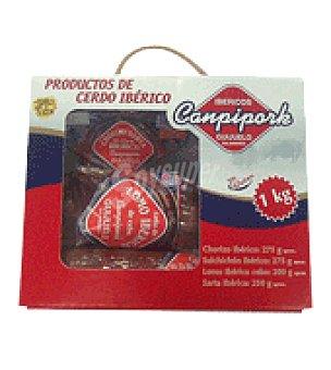 Canpipork Lote productos ibéricos 1 kg