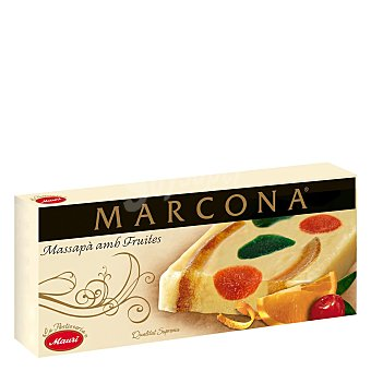 Marcona Turrón mazapán CON frutas 250 G