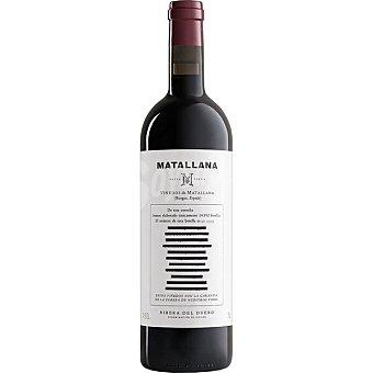 MATALLANA Vino tinto reserva ecológico DO Ribera del Duero Botella 75 cl