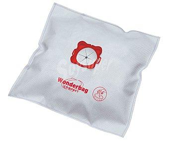 WONDERBAG Bolsa Aspiradora Compact. Adaptable a la mayoría de modelos de Rowenta