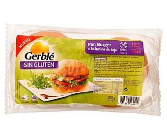 GERBLE Pan burguer Sin Gluten 300 g