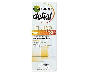 Delial Garnier Crema Rostro y Escote F-30 50 ml